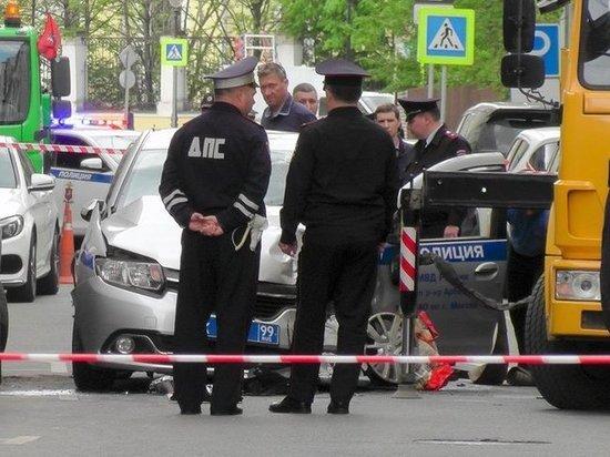 Водителем, протаранившим полицейских в центре Москвы, оказался итальянский бизнесмен