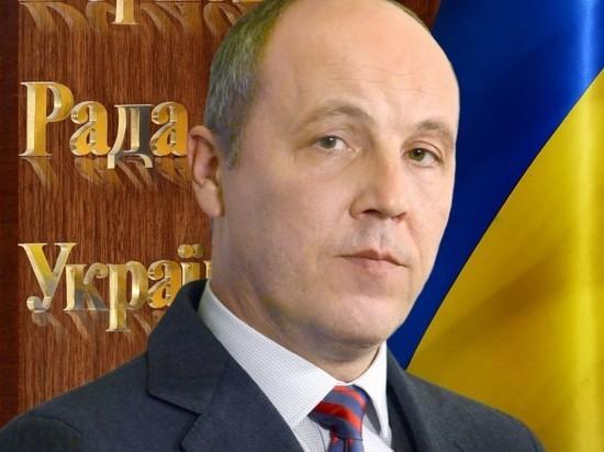 На Украине завели дело против спикера Рады Парубия