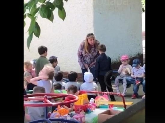 Заведующую краснодарским детсадом, заставлявшую ребёнка целовать землю, уволили