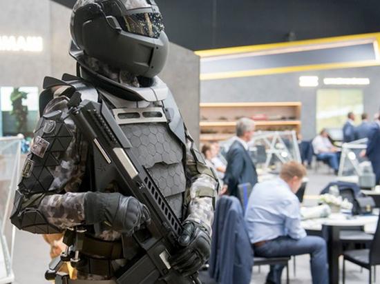 Российская армия испытала экзоскелеты
