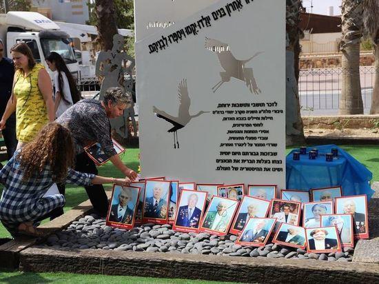 «Дети Войны» установили Памятник героям в Йерухаме