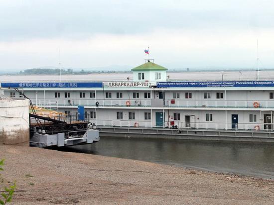 Начинается речная навигация на маршруте Хабаровск - Фуюань