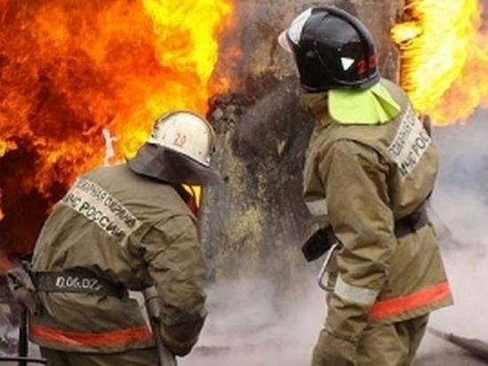 Пожар в магазине под Хабаровском унес жизнь одного человека
