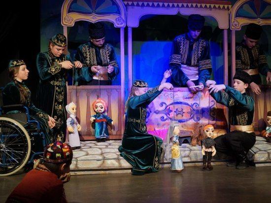 В Симферополе особые актеры показали премьерный спектакль