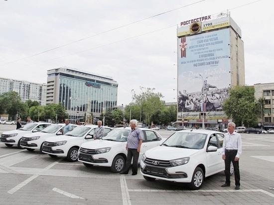 Евгений Первышов вручил ветеранским организациям Краснодара новые автомобили