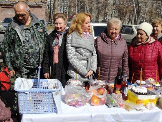 Жители Дзержинского района получили Пасху с доставкой