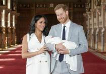 Опубликована первая фотография сына принца Гарри и Меган Маркл
