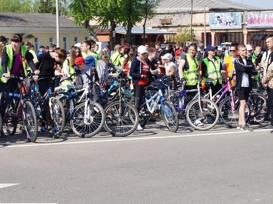 В Кирове состоялся велопробег, приуроченный ко Дню Победы