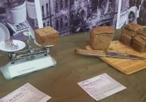 Жители Муравленко попробовали «блокадный» хлеб