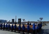 В Салехарде состоялась акция «Вахта памяти»