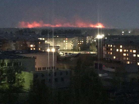 Иркутск в ночь на 9 мая накрыло дымовой завесой