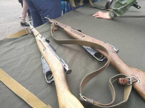 Читинцы взяли в руки оружие Победы 9 мая