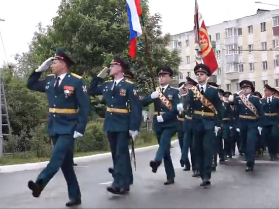 Парад Победы состоялся в Калуге Видео