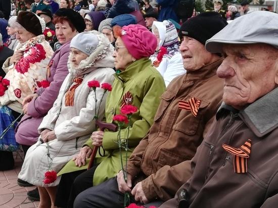 Несмотря на непогоду, почти все ветераны ВОВ Читы были на празднике 9 мая