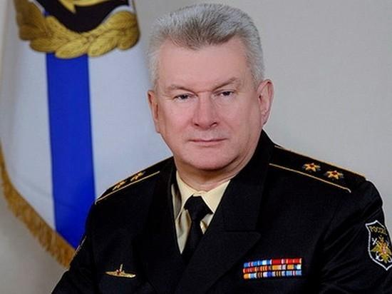 До этого он был командующим самого мощного флота России Северного