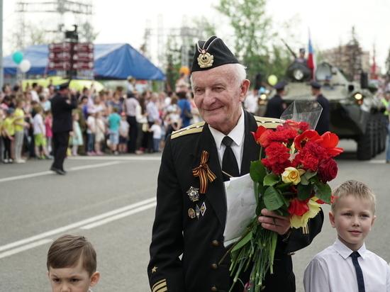 Парад в честь Великой Победы прошел в Саранске