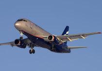 Среди отменённых «Аэрофлотом» рейсов SSJ 100 есть рейс в Краснодар