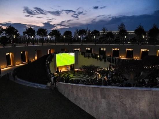 В парке «Краснодар» пройдут бесплатные кинопоказы и трансляция матча