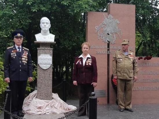 В хуторе имени Ленина установили бюст маршала Жукова