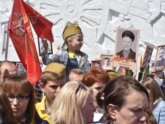 С портретами ветеранов по Краснодару прошли 110 000 участников «Бессмертного полка»