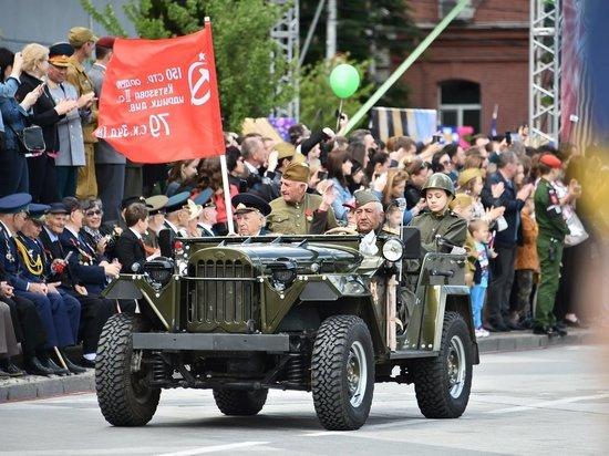 Парад в честь Дня Победы в Краснодаре собрал более 30 тысяч зрителей