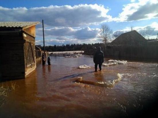 В Катангском районе объявлен режим ЧС из-за подтопления