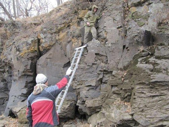 Неизвестные петроглифы обнаружили в Хабаровске