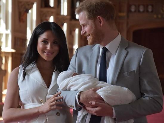 Что скрывает имя новорожденного члена королевской семьи Британии