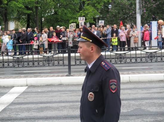 Полиция не допустила нарушений в День Победы в Калуге