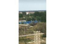 Новые автобусы для Астрахани простаивают на Бабайке