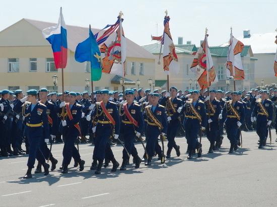 Ивановские десантники отмечают юбилей