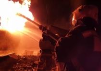 В Чечне потушили пожар на ГАЗС после взрыва цистерны