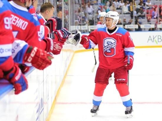 Ночная хоккейная лига уменьшила число заброшенных Путиным шайб