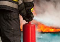 В Калининграде горел подвал недостроенной семиэтажки