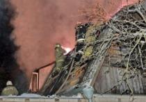 В Вяземском районе в пожаре в собственно доме пострадал мужчина