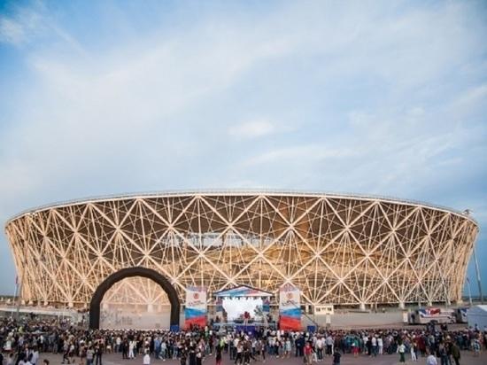 За год «Волгоград Арену» посетили 570 тысяч болельщиков