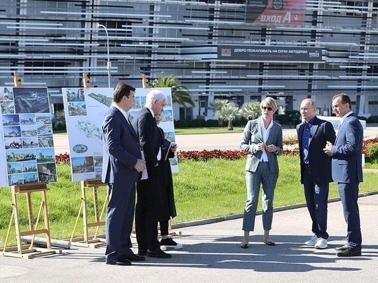 Владимира Путина познакомили с образовательными проектами в Сочи