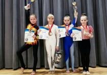 Юные рязанские воздушные гимнастки стали чемпионками мира