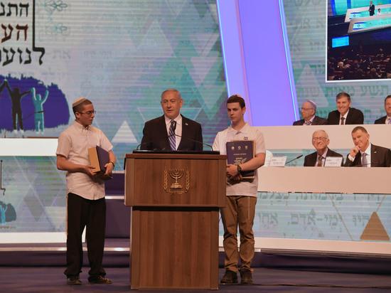 Премьер-министр выступил перед финалистами Международной викторины знатоков ТАНАХа