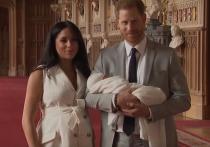 Британские СМИ раскрыли, в честь кого Меган Маркл и Гарри назвали своего сына