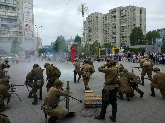 В Ульяновске провели военно-историческую реконструкцию