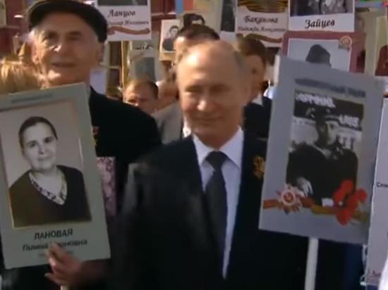 Путин рассказал, почему его отец не мог участвовать в Параде Победы