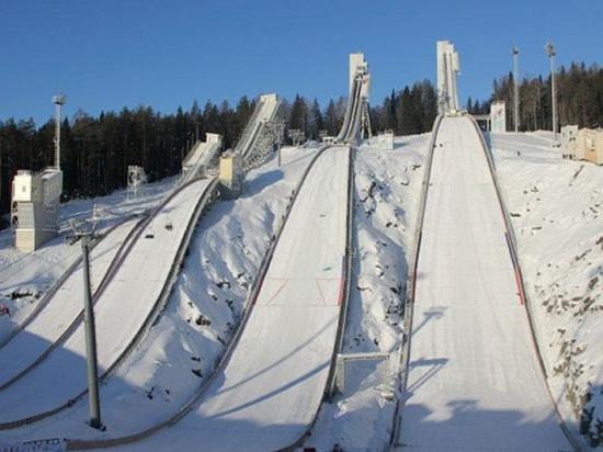 В России появятся комплексы для соревнований по прыжкам с трамплина