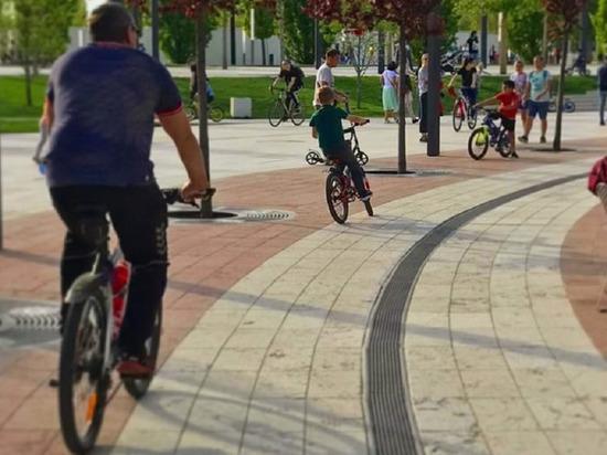 В парк «Краснодар» запретят въезд на велосипедах по выходным