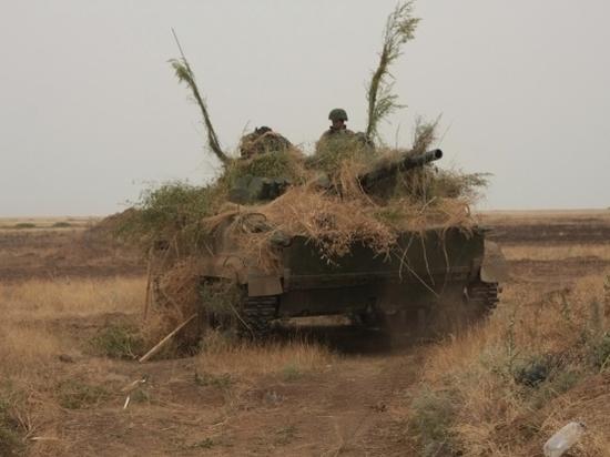Танковый биатлон пройдет на полигоне «Прудбой»