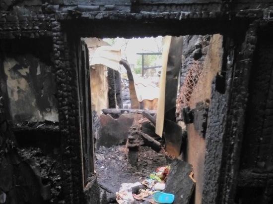 Рязанцев просят помочь семье погибшего на пожаре мужчины