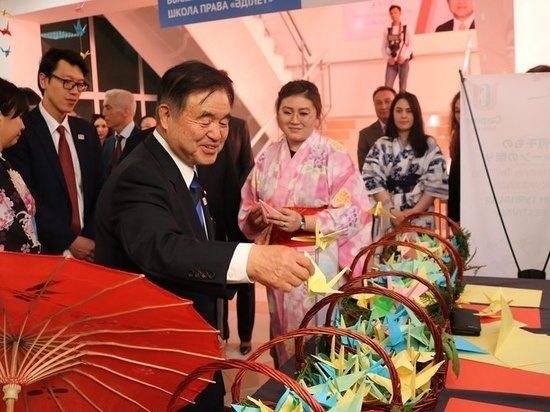 «Касугай» между Казахстаном и Японией