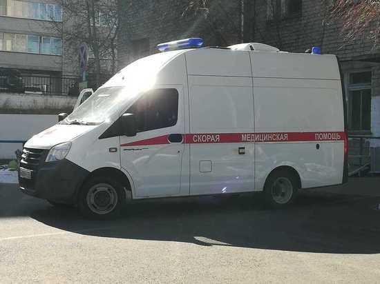 Пациент скорой помощи погиб в ДТП на трассе Забайкалье