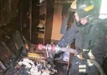 Во время пожара квартиры в Калуге пострадал человек