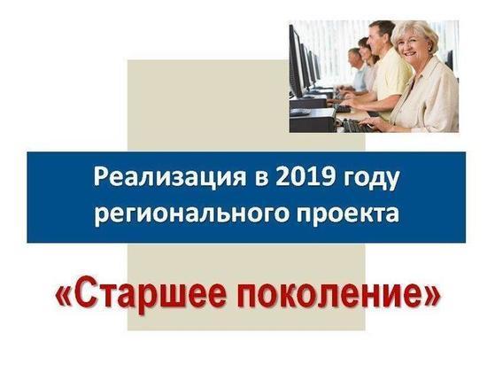 Реализация национальных проектов  в службе занятости населения области